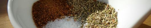 Gewürz- und Kräutermischungen