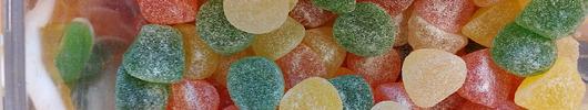 Kandiert und Zucker